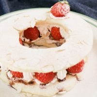 フライパンとHMで作る リースケーキ