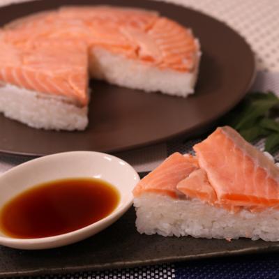 サーモンで作る!ますの寿司