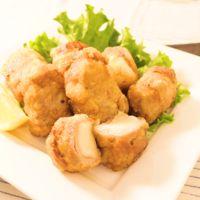 豚薄切り肉で作る もっちもち竜田揚げ