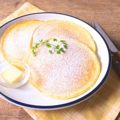 レモンとバターのパンケーキ