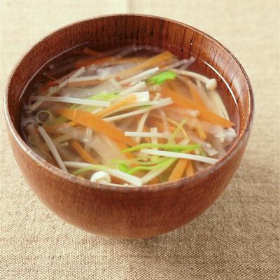 野菜たっぷり沢煮椀