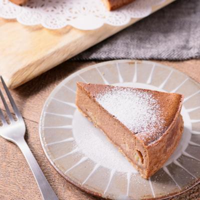 バナナチョコレートチーズケーキ