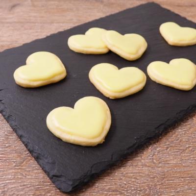さわやかレモンの型抜きクッキー
