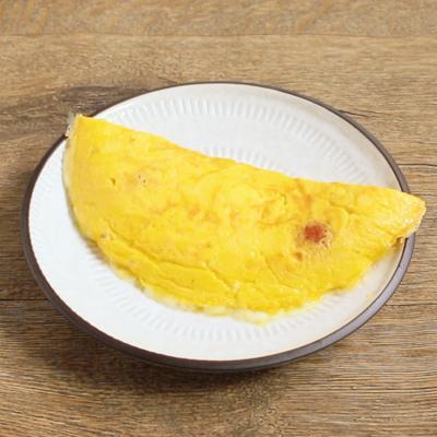 ミニトマトのチーズオムレツ