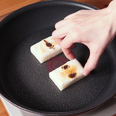 お餅の焼き方