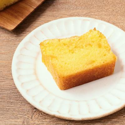 ゆず茶のパウンドケーキ