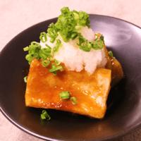 もちもち食感!高野豆腐で揚げだし