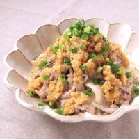 レンジで簡単 豚肉ともやしのおろしポン酢