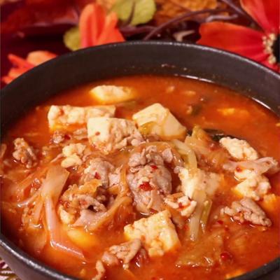 キムチで簡単!ピリ辛味噌キムチスープ