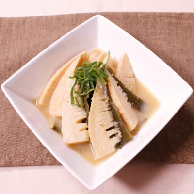 富山郷土料理!たけのこと昆布の味噌煮