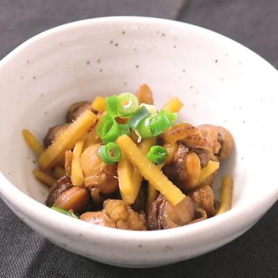 ベビーホタテと生姜のさっぱり佃煮