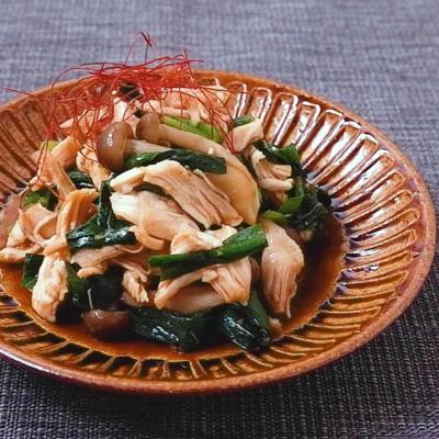 鶏ささみのピリ辛韓国風和え