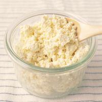 豆乳で作るカッテージチーズ