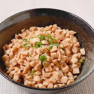 簡単おいしい高野豆腐そぼろ