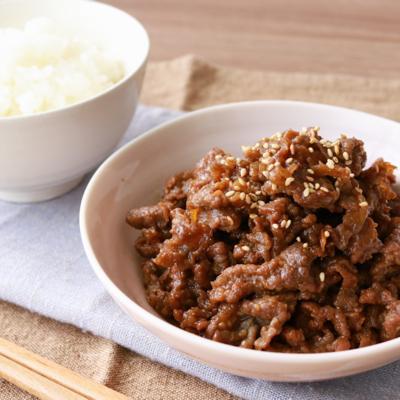 ごはんが進む 牛肉の味噌しぐれ煮