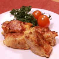 豚肉のチーズ入りピカタ