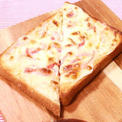 カニかまクリームチーズトースト