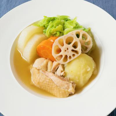 白菜たっぷり 和風ポトフ