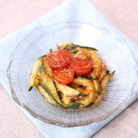 すっぱ美味しい!なすときゅうりとトマトのトムヤムサラダ