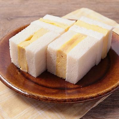たまご豆腐でふわふわ タマゴサンド