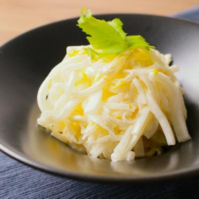 ゆずマヨネーズの大根サラダ