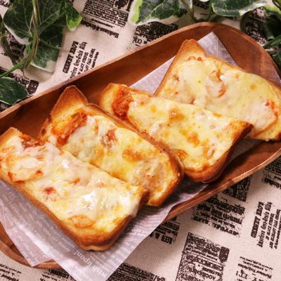 意外な組み合わせ キムチーズトースト