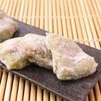 白玉粉で簡単 ほろ苦い抹茶ゆべし