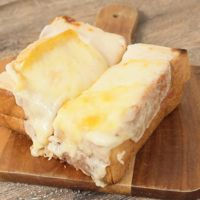 とろーり ラクレットチーズのクロックムッシュ