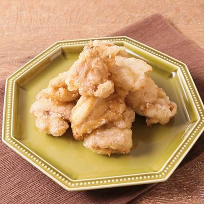 鶏もも肉の塩レモン唐揚げ