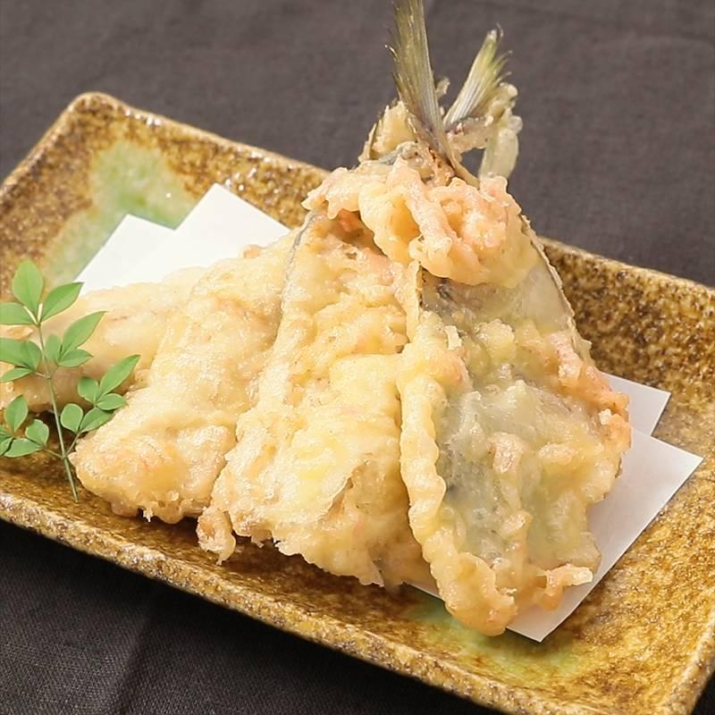 紅生姜衣でピリッとおいしいアジの天ぷら 作り方・レシピ | クラシル