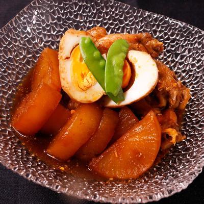 焼き肉だけじゃない!焼き肉のタレで鶏手羽と大根の韓国風煮