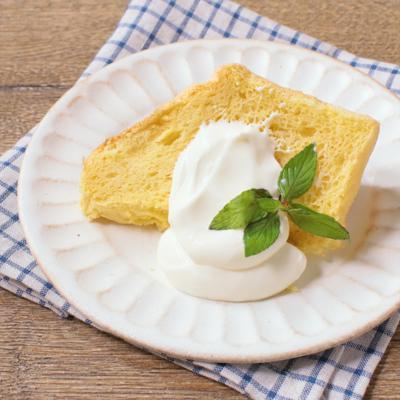 低糖質 大豆粉のシフォンケーキ