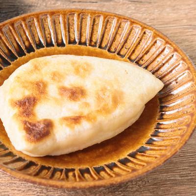 フライパンで簡単 明太チーズのおやき風