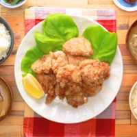 揚げ焼きでお手軽 鶏もも肉の唐揚げ