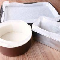 ケーキ型 クッキングシートの作り方と敷き込み方