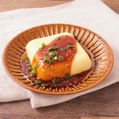 チーズのピリ辛温やっこ