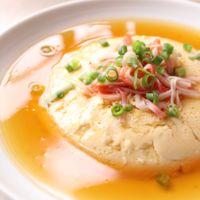 レンジで簡単 豆腐と卵のふわふわ蒸し