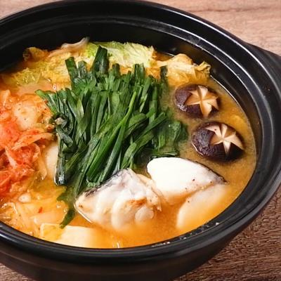 ピリ辛キムチ鱈鍋