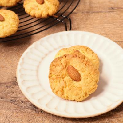 アーモンドとココナッツのドロップクッキー