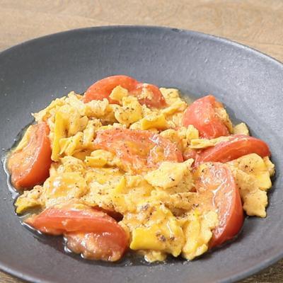 レシピ トマト 人気 卵