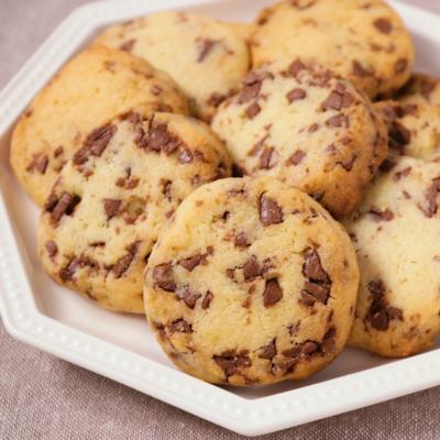 チョコたっぷり アイスボックスクッキー