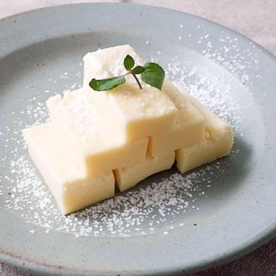 レンジで簡単 チーズケーキ