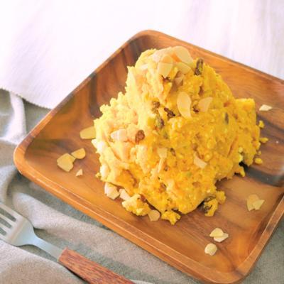 レンジで簡単 かぼちゃのスイートサラダ