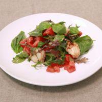 簡単!ホタテとトマトのイタリアンサラダ