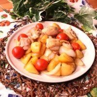 炒めて簡単!鶏肉とトマトの洋風炒め