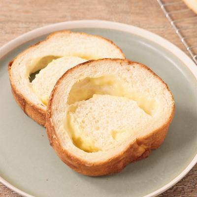 ダブルチーズのラウンドパン