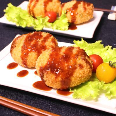 サクサク美味しい 枝豆コロッケ