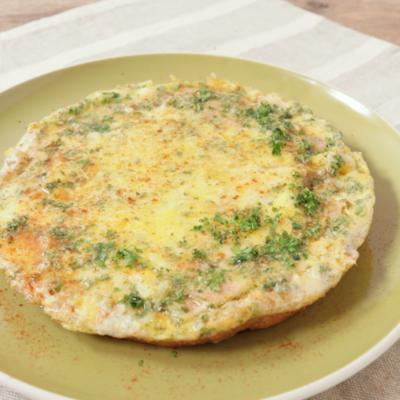 とろーりチーズとハムの卵焼き