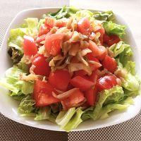 ザーサイとトマトのサラダ