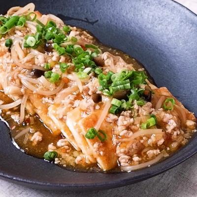 ピリ辛 麻婆あんかけ焼き豆腐